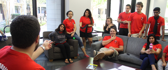 Residence Life Staff Training in Guinan Hall