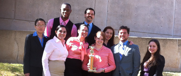 Mock Trial Team Members Recognized at Championship