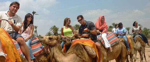 UST MBA Students Study Marketing in Morocco