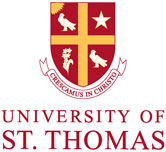 University of St. Thomas Houston vertical logo