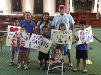 Celts Support Pro-Life Bill in Austin