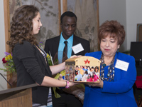 Mendenhallers Present Dream Box to Trini Mendenhall-Sosa