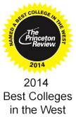 Princeton Review 2014 logo - Best in the West