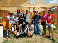 Students Build Community with Habitat for Humanity