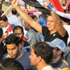 Ramy Mahfouz joined millions of protesters in Egypt