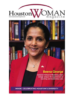 Dr. Beena George in Houston Woman Magazine