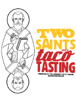 Two Saints and a Taco Tasting