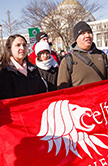 Students march for Life in Washington