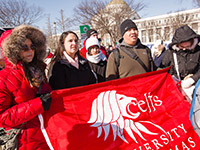 UST Students march for Life - Photo by Matthew Lomanno