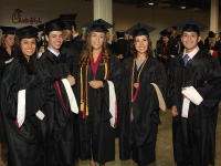 Graduates after 2012 Commencement Ceremony