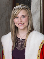 Mardi Gras Queen Meredith Smith