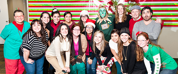 Education Students Visit Whoville During Christmas Party