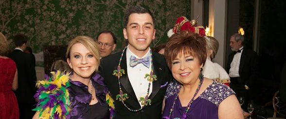 Mendenhall Family Supports Mardi Gras as 2015 Chairs
