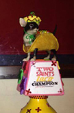 Two Saints and a Taco Tasting Trophy