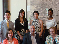 2014 Pecten Scholarship recipients and supporters