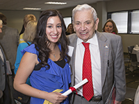 Christine Ghattas and Odis Peavy