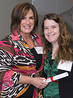 Laraine Guida McIntyre '81 and Sarah Loeffler