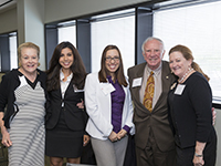 Charlotte Hill, Kaitlin Barreda-Pinkerton, Desiree Cotua, Dr. Stratton Hill and Chari Hust