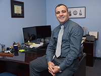 Hafedh Azaiez, '08 alumnus and an HISD lead principal.