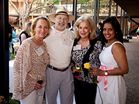 Pictured L to R: Marianne Ivany, C.C. Connor, Mary Ann McKeithan and Kusum Patel