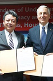 UST signs MOU with Chia Nan University of Pharmacy and Science in Taiwan