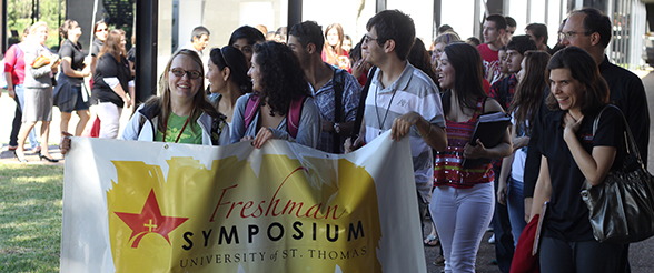 Freshman Symposium is Students� First Class at UST