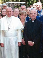 Pope Francis with PASTA Attendees