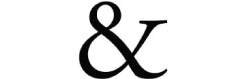An ampersand letter