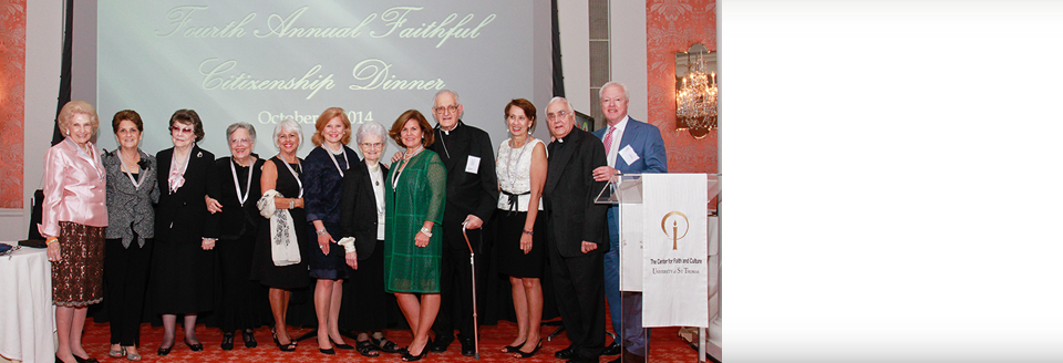 'Faithful Citizens' Honored by Center for Faith and Culture