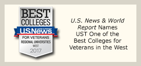 UST News & World Report Names UST one of the Best Colleges for Veterans in the West