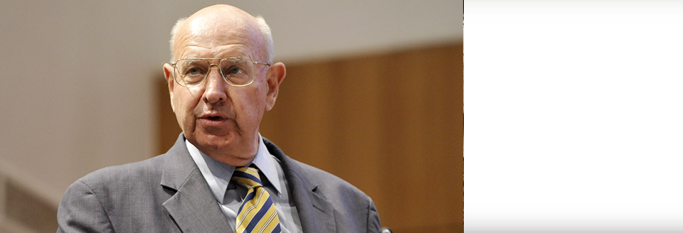 Ambassador Pickering Delivers 2015 Distinguished Diplomat Lecture