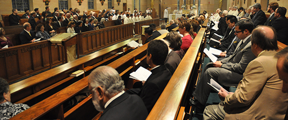 St. Mary�s Seminary Celebrates 60 Years in Memorial
