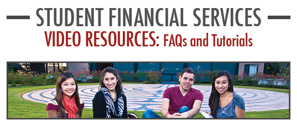 Student Financial Services - Video Resources