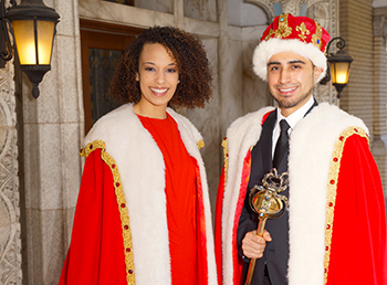 Nursing Student Crowned King, Musician is Queen