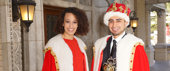 Nursing Student Crowned King, Musician Crowned Queen