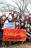 Celts for Life at March for Life 2015