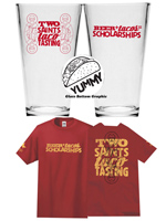 Two Saints and a Taco Tasting Merchandise