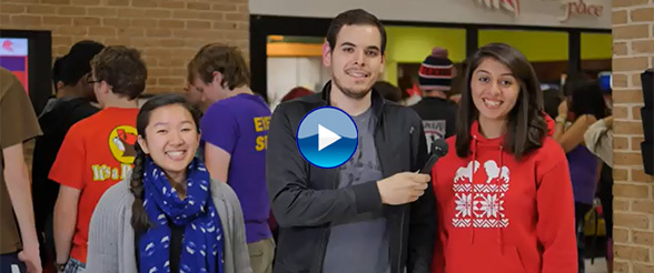What is there to do on campus at University of St. Thomas-Houston?