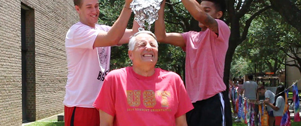 That looks coooold! Ivany takes ice bucket challenge