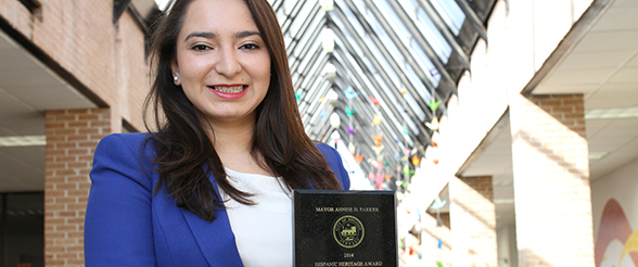 Alumna Name Hispanic Heritage Award Winner by Mayor