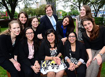 University of St. Thomas Honors Program Students Research Happiness