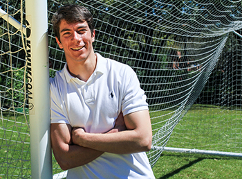 Taffet Trades Soccer Pitch for Med School