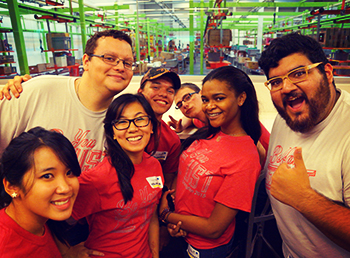 UST Volunteers at the Houston Food Bank
