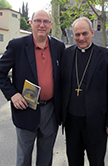 Dr. John Hittinger with Bishop Marcelo S�nchez Sorondo