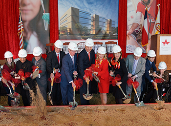 Groundbreaking Ceremony for new Center for Science and Health Professions