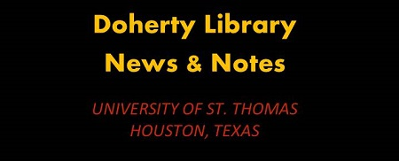 News notes Doherty Library