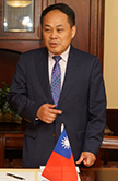 The Honorable Louis M. Huang, Taipei Economic and Cultural Office director general
