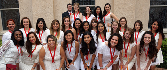 Nursing School Graduates Celebrated in Pinning Tradition