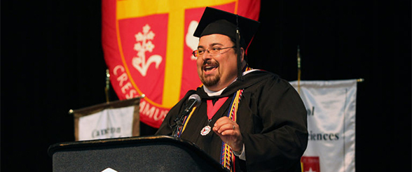Student Graduation Speaker Finds Success 2nd Time Around