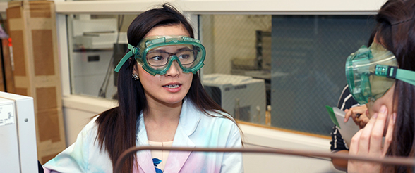 Pre-Dental Grad Smiles on UST Research Experience